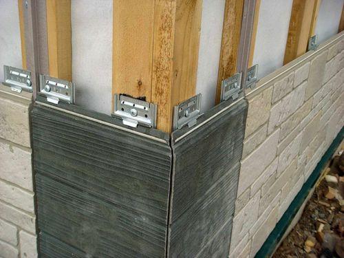 Крепление бетонного сайдинга