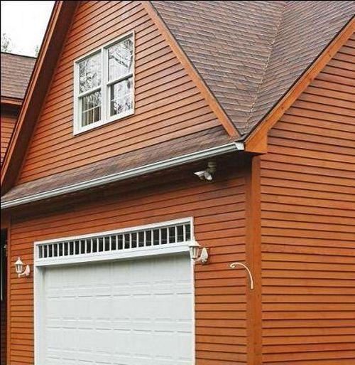 Как крепить деревянный сайдинг на стены дома