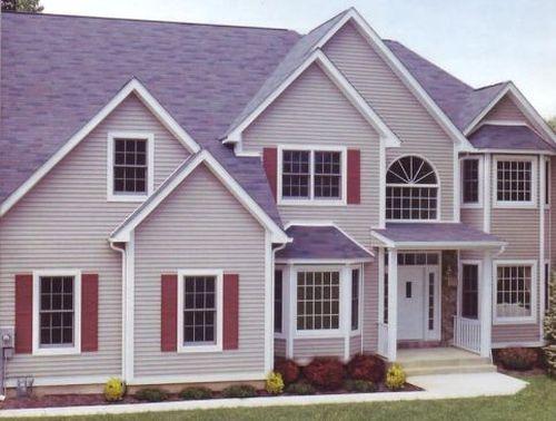 Фиолетовая крыша