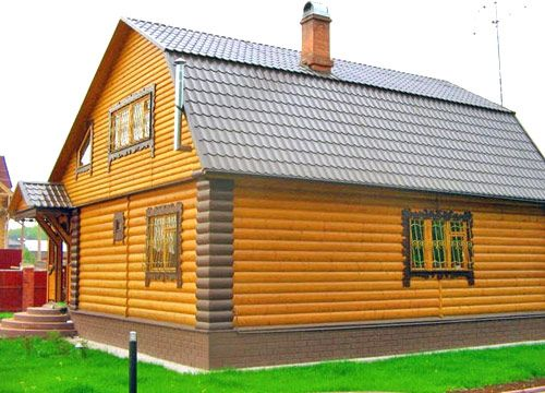 Комбинированная отделка дома