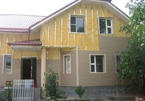 Отделка каркасного дома