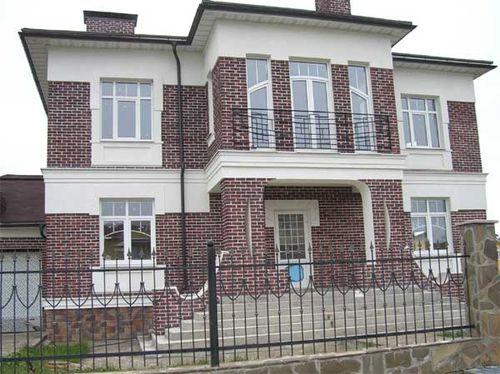 оформления фасада дома сайдингом_6