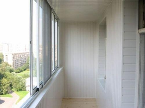Отделка балкона сайдингом внутри своими руками