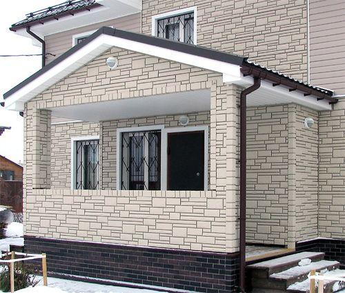 Сайдинг для отделки крыши