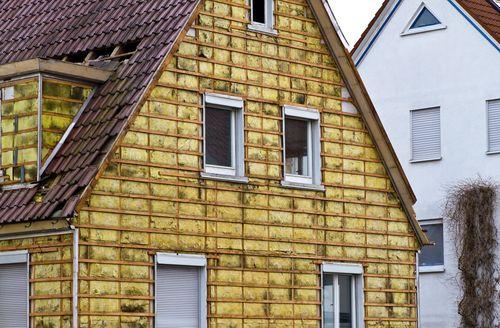 Как производится утепление кирпичного дома под сайдинг 