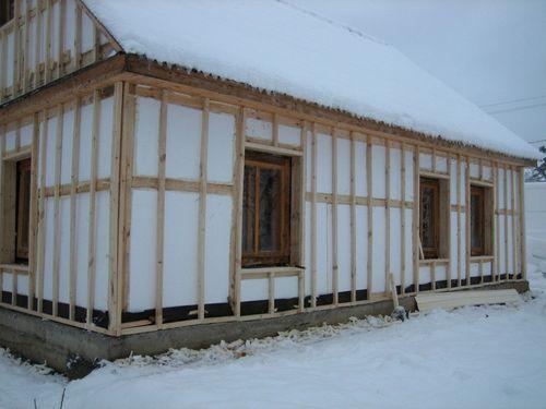 Утепление стен снаружи пеноплексом с обшивкой сайдингом